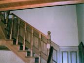 Маршевая лестница из массива